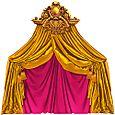 Opéra doré framboise