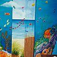 Decor mural marin surrealiste 2
