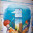 Decor mural marin surrealiste 1