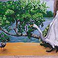 Cygne et canard (détail)