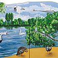 Cygnes su le Loiret
