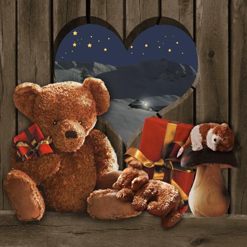 Tableau-noel-nounours-cadeaux