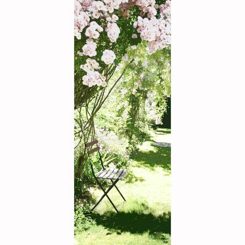 Une porte vers le jardin - Deco Blog Creamint