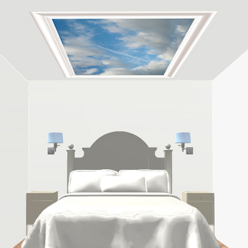 Deco chambre decor de plafond l 39 avion l haut - Decoration des plafonds ...