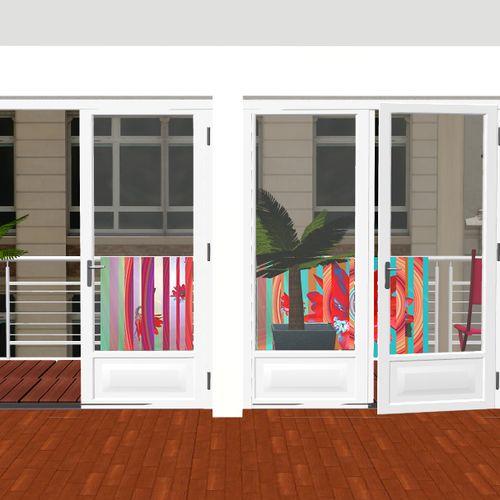 Fabulous Un balcon intime et coloré 500 x 500 · 34 kB · jpeg