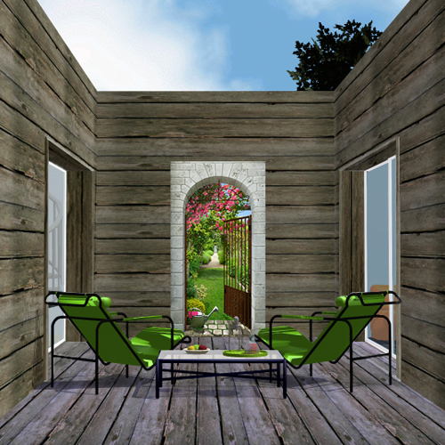 Patio decoration exterieur terrasse en bois - Photo deco terrasse exterieur ...