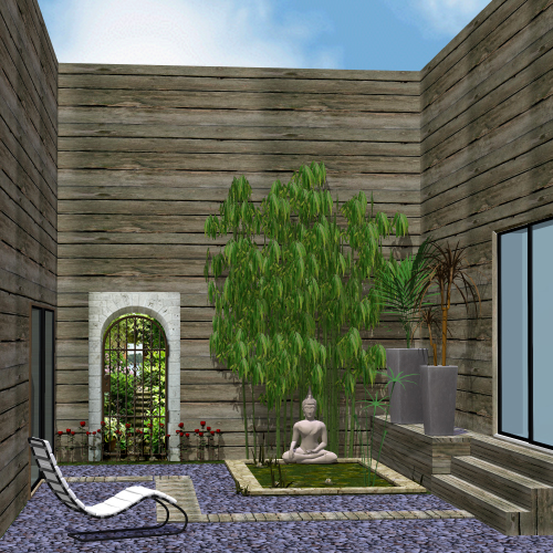 D cor ext rieur atmosph re zen dans le patio for Decoration exterieur zen