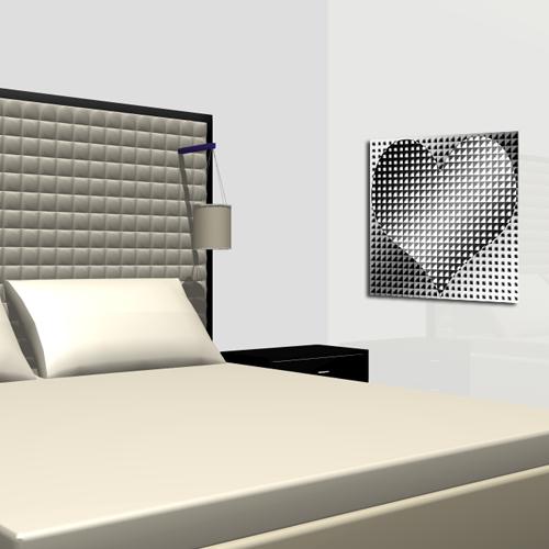 deco noir et blanc coeur design noir et blanc. Black Bedroom Furniture Sets. Home Design Ideas