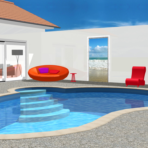 Attractive Decoration Mur Exterieur #2: Deco-piscine-mer-ocean-atlantique.jpg