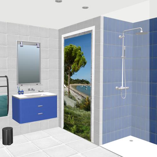 Salle de bain trousse chemise - Deco mer salle de bain ...