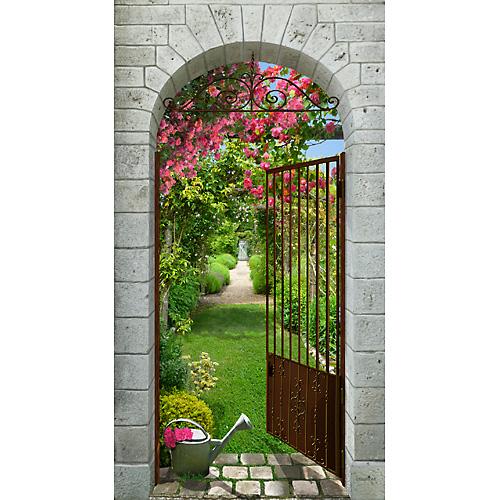 Vert: Jardin de roses